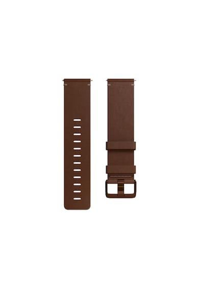 Fitbit Curea ceas smartwatch  Versa, Accessory Leather Band, Small, Cognac Femei
