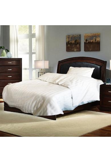 Kotonia Home Lenjerie de pat pentru 1 persoana  damasc, 100% bumbac, alb Femei