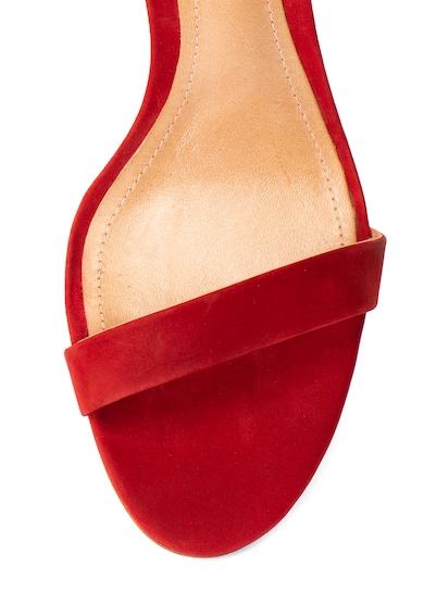 Schutz Sandale de piele nabuc cu bareta pe glezna Mariza Femei