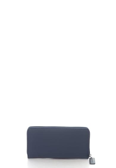 Lacoste Texturált cipzáros pénztárca hímzett logóval női