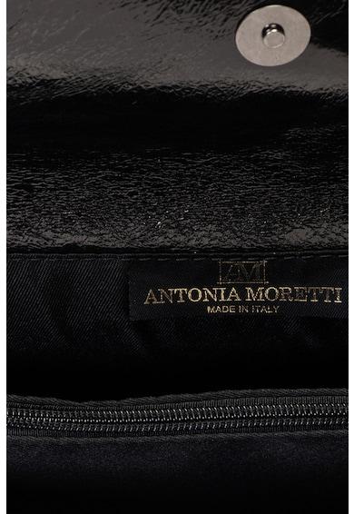 Antonia Moretti Geanta plic din piele cu bareta din lant Femei