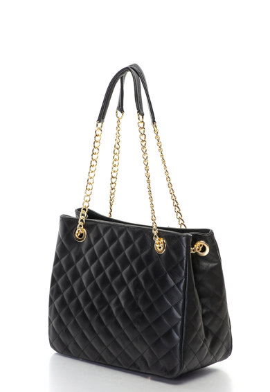 Antonia Moretti Кожена чанта с капитониран дизайн Жени
