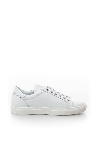 John Galliano Bőr sneakers cipő dekoratív részlettel női