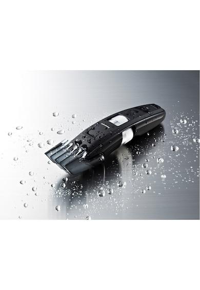 Panasonic Trimmer pentru barba  , lavabil, 0.5-30mm, acumulator sau la retea, 4 accesorii, Negru Barbati