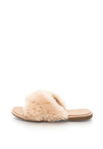 UGG Чехли Joni от овча кожа с кръстосан дизайн Жени