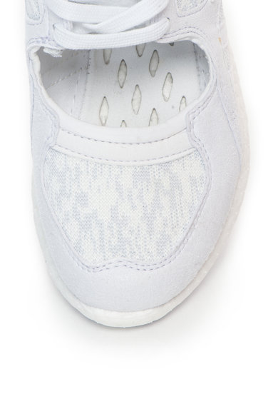 Adidas ORIGINALS Pantofi sport din material textil si piele intoarsa sintetica, cu decupaj Equipment Racing 91/16 Femei