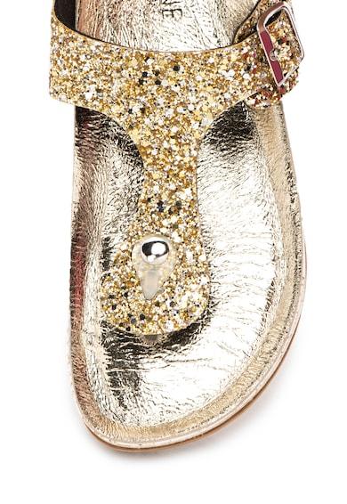 Zee Lane Papuci flip-flop cu insertii stralucitoare Femei