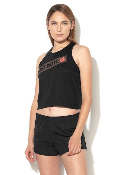 Nike Top cu imprimeu text Femei