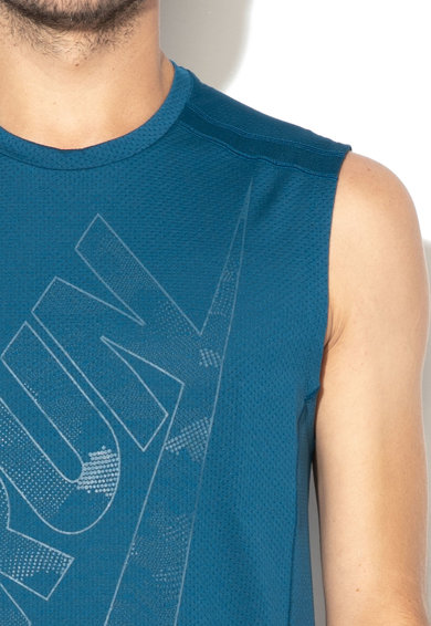 Nike Top cu text, pentru alergare Barbati