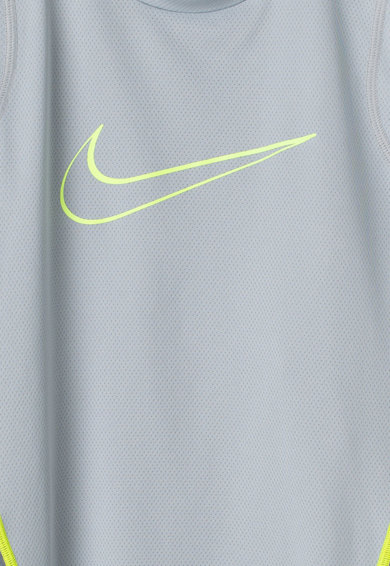 Nike Top cu imprimeu logo, pentru fitness Fete