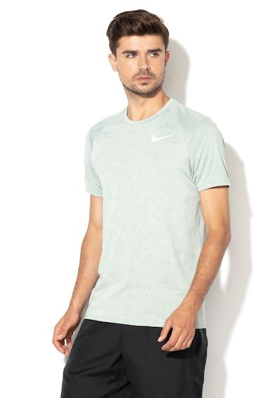 Nike Тениска за бягане, с абстрактен десен Мъже