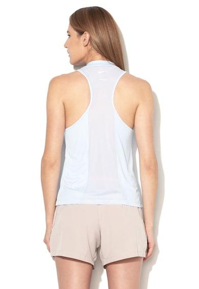 Nike Топ за бягане с мрежест гръб Жени
