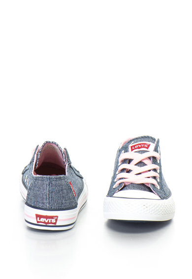 Levi's Kids Trucker vászoncipő fényes betétekkel Lány