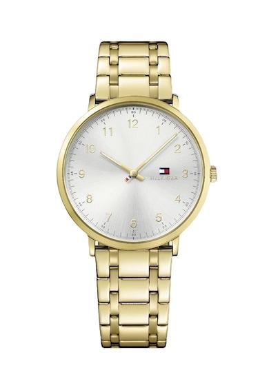 Tommy Hilfiger Кварцов часовник James с метална гривна Мъже