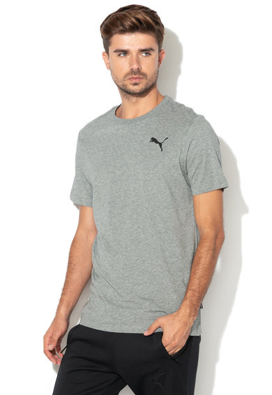 Puma Tricou regular fit cu imprimeu logo Essentials Barbati