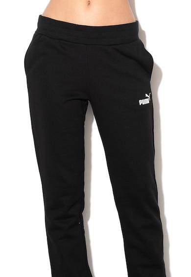 Puma Essentials polárbélésű regular fit szabadidőnadrág női
