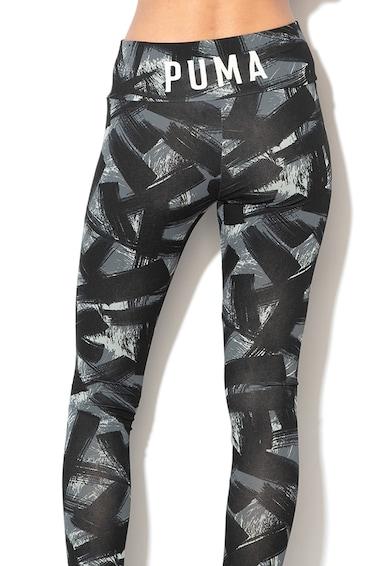 Puma Fusion absztrakt mintás leggings női