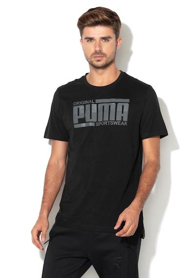 Puma Tricou regular fit cu imprimeu logo Barbati