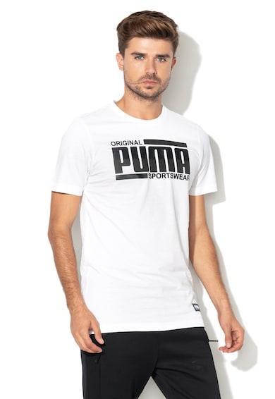 Puma Regular fit logómintás póló férfi