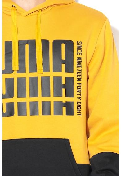 Puma Rebel Up Relaxed Fit kapunis pulóver logómintával férfi