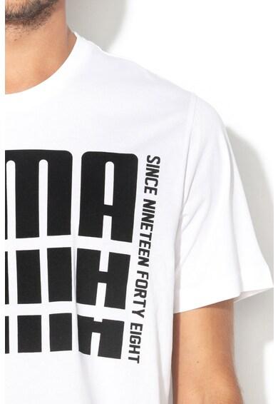 Puma Tricou regular fit cu imprimeu logo Rebel Barbati