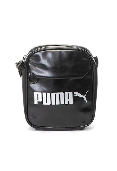 Puma Geanta crossbody de piele ecologica cu imprimeu logo Barbati