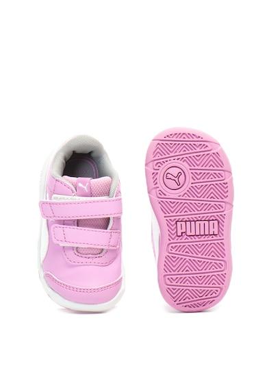Puma Pantofi sport de piele ecologica Stepfleex 2 Fete
