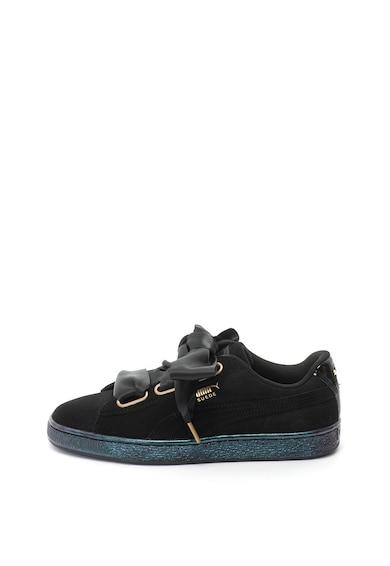 Puma Велурени спортни обувки със сатинирани връзки Жени