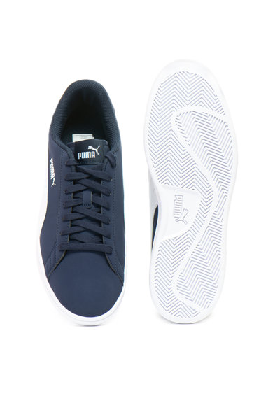 Puma Pantofi sport cu garnituri contrastante Smash v2 Barbati