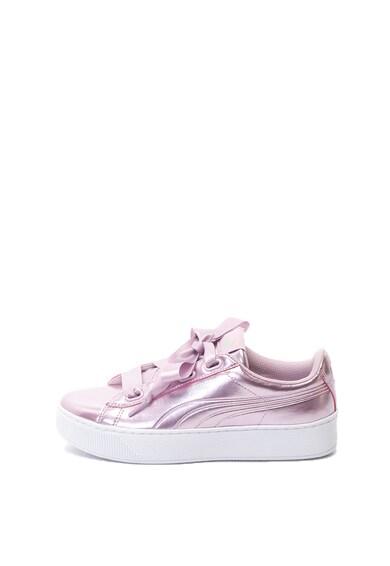Puma Спортни обувки Vikky с лачена повърхност Жени