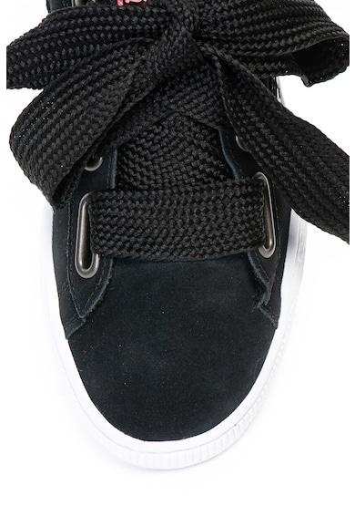 Puma Pantofi sport de piele intoarsa Heart Street 2 Femei