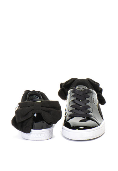 Puma Pantofi sport cu aspect lacuit Basket Bow Femei