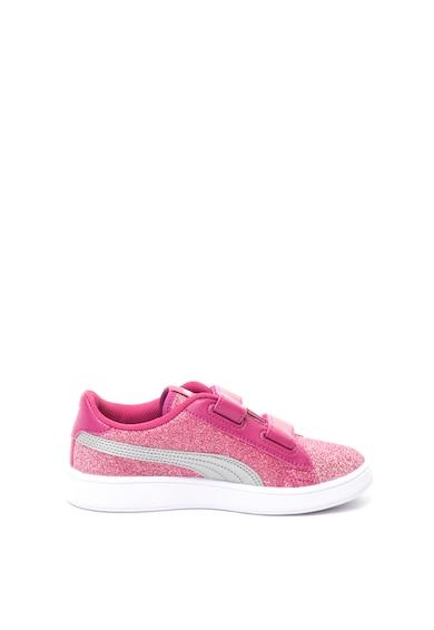 Puma Smash csillámos cipő Soft Foam technológiával Lány