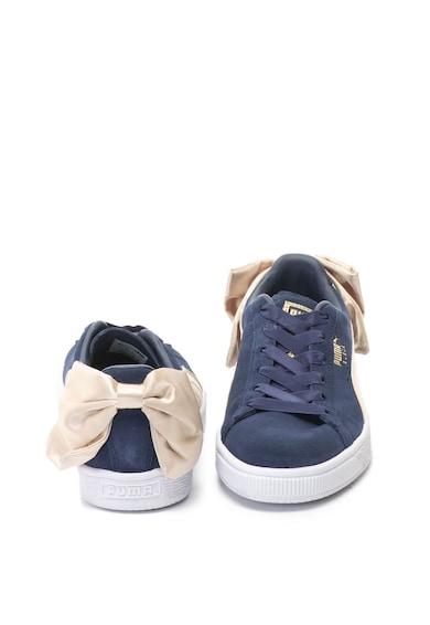 Puma Pantofi sport de piele intoarsa Bow Varsity Femei