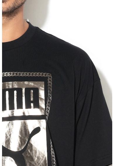 Puma Tricou lejer cu imprimeu logo 24 Barbati
