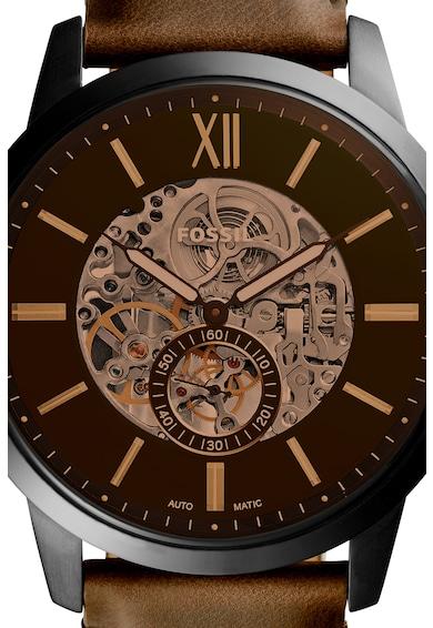 Fossil Часовник Townsman с кожена каишка Мъже