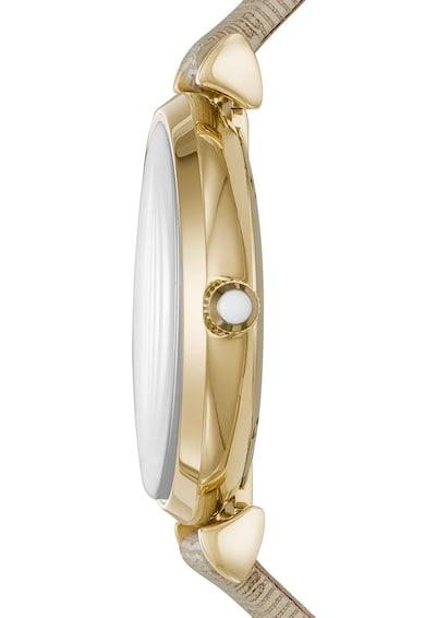 Emporio Armani Часовник Gianni T-Bar с кожена каишка Жени