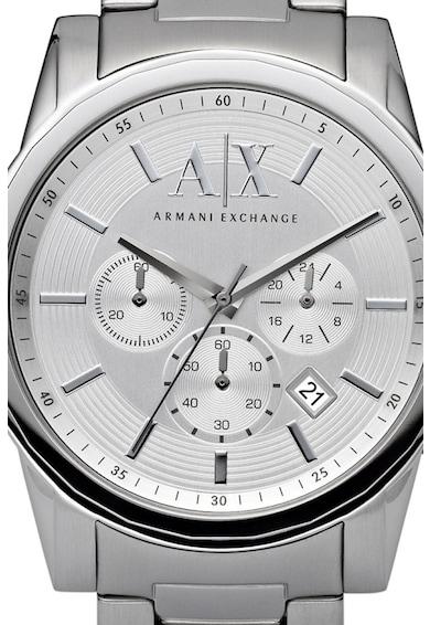 ARMANI EXCHANGE Часовник от неръждаема стомана, с хронометър Мъже