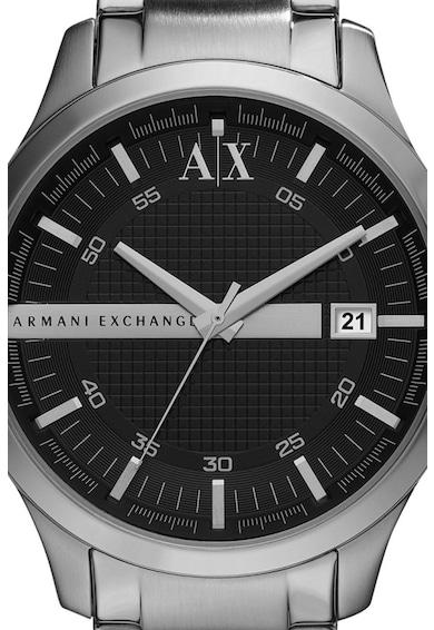 ARMANI EXCHANGE Часовник Hampton от неръждаема стомана с хронограф Мъже