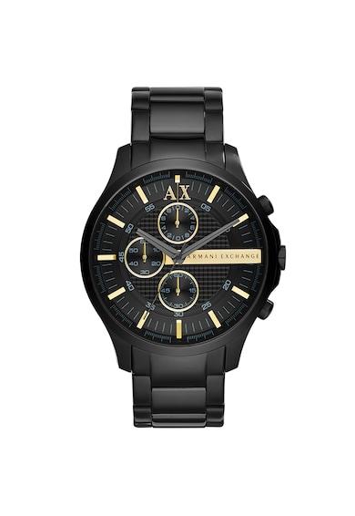 ARMANI EXCHANGE Armani, Часовник Hampton от неръждаема стомана с хронограф Мъже