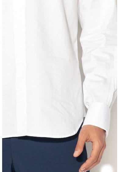 Zee Lane Collection Camasa eleganta cu mansete adecvate pentru butoni Barbati