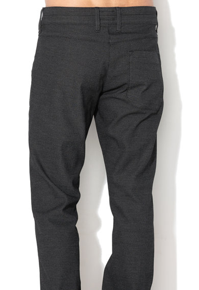 Mustang Pantaloni chino texturati cu snur in talie Barbati