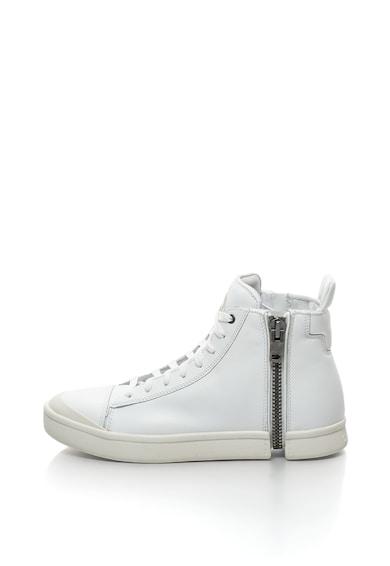 Diesel Високи кожени спортни обувки Nentish с цип Мъже