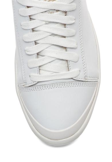 Diesel Pantofi sport de piele cu detaliu cu fermoar Nentish Barbati