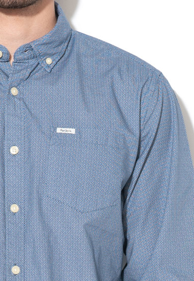 Pepe Jeans London Десенирана риза Fawdry Мъже
