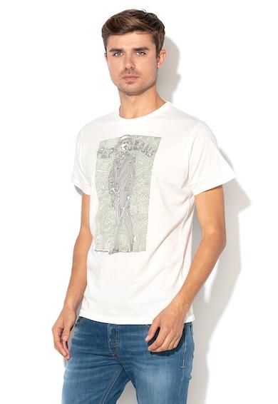 Pepe Jeans London Tricou regular fit cu imprimeu grafic Sans Barbati