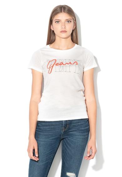 Pepe Jeans London Tricou cu imprimeu logo Sandy Femei