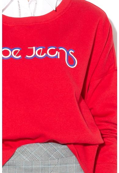 Pepe Jeans London Суитшърт June с текстова щампа Жени