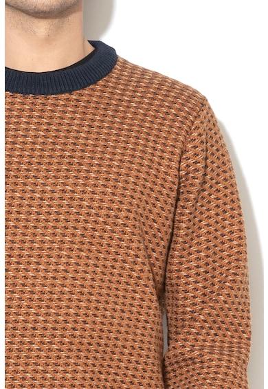 Pepe Jeans London Пуловер с вълна и рипс Мъже
