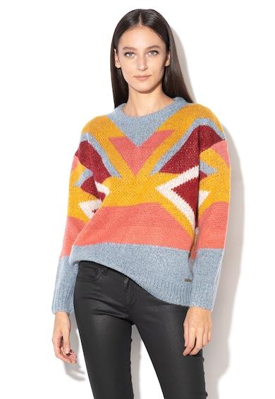 Pepe Jeans London Пуловер Sabela с фигурална щампа Жени